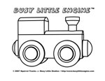 The Busy Little Engine DVD - Activities