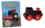 Busy Little Engine™ DVD and wooden train